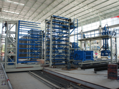 Color Paving Brick Machine